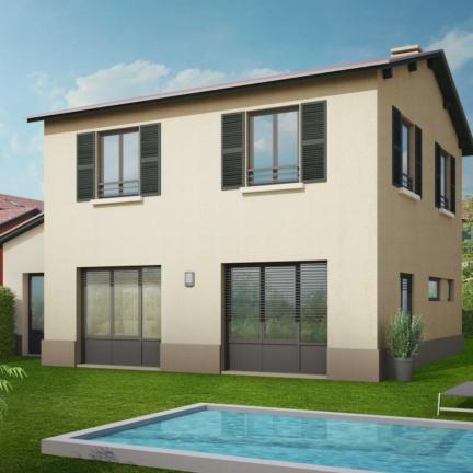 AC2L Invest - Le Hameau d'Alice - Aménagement lotissement - extérieur maison 2