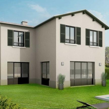 AC2L Invest - Le Hameau d'Alice - Aménagement lotissement - extérieur maison 3