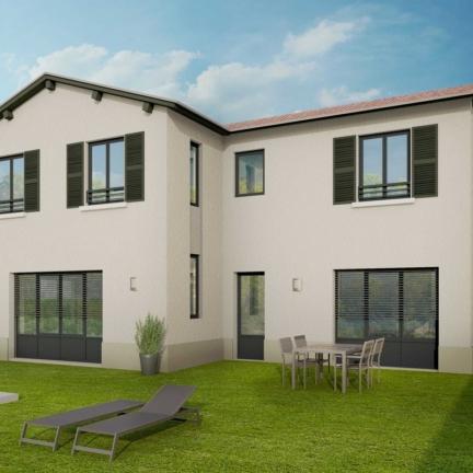 AC2L Invest - Le Hameau d'Alice - Aménagement lotissement - extérieur maison 4