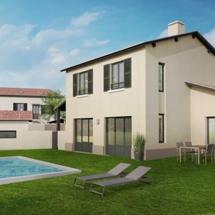 AC2L Invest - Le Hameau d'Alice - Aménagement lotissement - extérieur maison 1