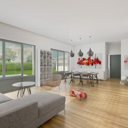 AC2L Invest - Le Hameau d'Alice - Aménagement lotissement - intérieur maison 1