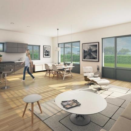 AC2L Invest - Le Hameau d'Alice - Aménagement lotissement - intérieur maison 2