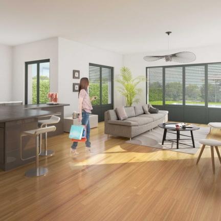 AC2L Invest - Le Hameau d'Alice - Aménagement lotissement - intérieur maison 3