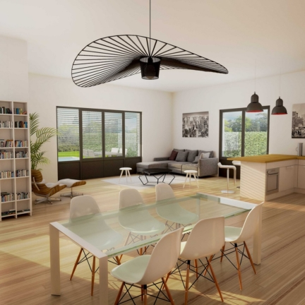 AC2L Invest - Le Hameau d'Alice - Aménagement lotissement - intérieur maison 4