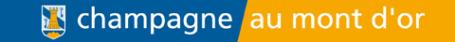 Logo champagne au mont d'or